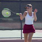 Girls Varsity Tennis rolls past Alta Loma High School