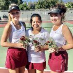Girls Varsity Tennis adds another win on Senior Day