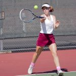 Girls Varsity Tennis moves to 9-0 with Win Over Colony High School