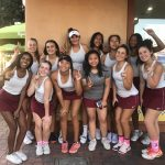 Girls Varsity Tennis clinches Palomares League Title with 15-3 win over Bonita