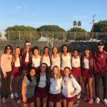 Girls Varsity Tennis Advances to CIF Semifinals