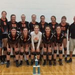 Lady Stags Volleyball Wins First Tournament of the Year at Allendale