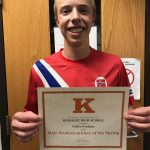 Male Scholar Athlete of the Spring – Collin Graham
