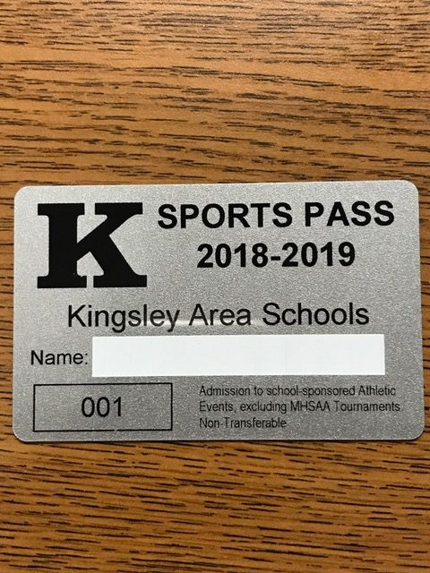 2018/2019 Kingsley Athletic Passes ON SALE Now!
