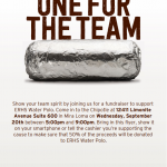 Waterpolo Chipotle Fundraiser Sept 20th!