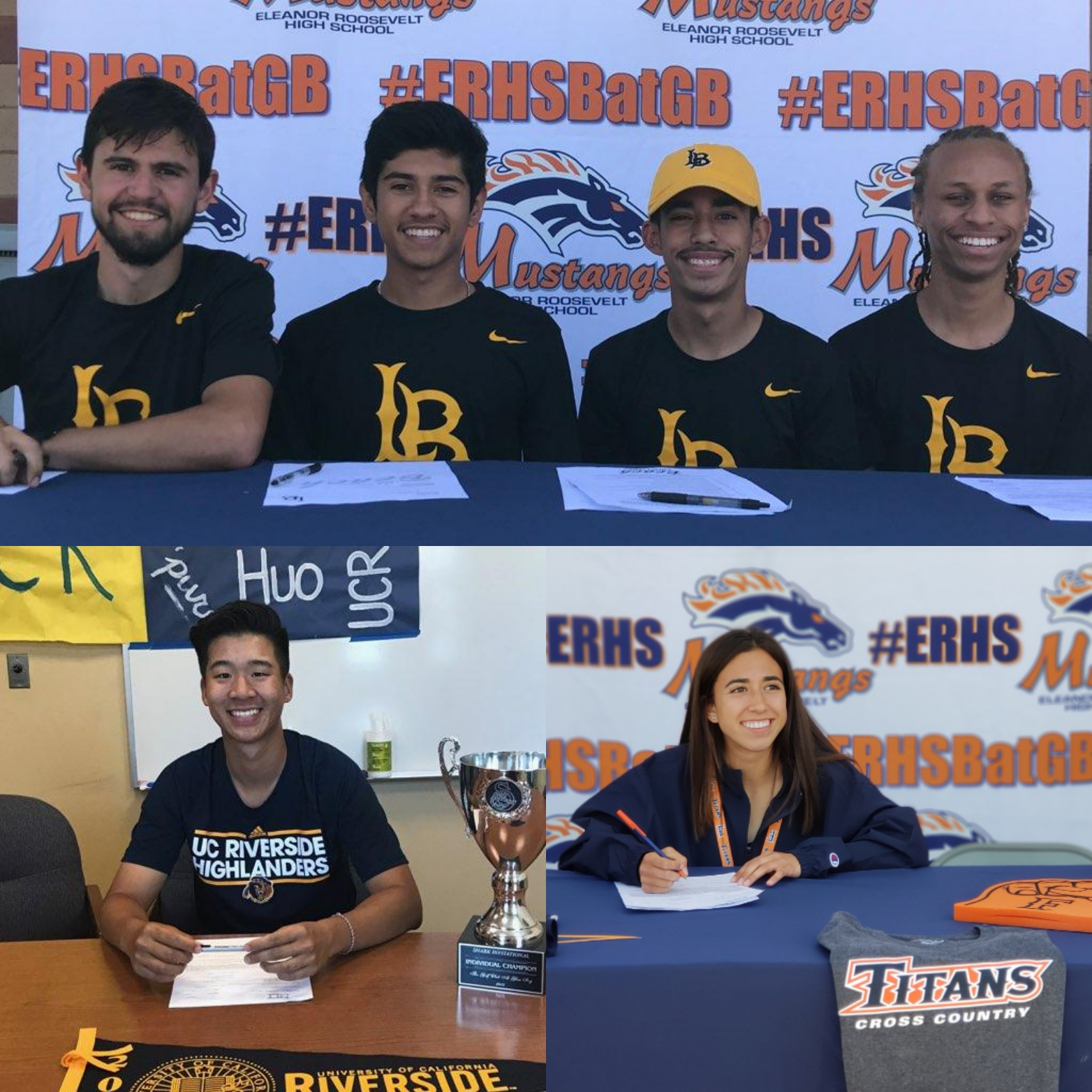 6 Mustangs sign to compete at the next level!!