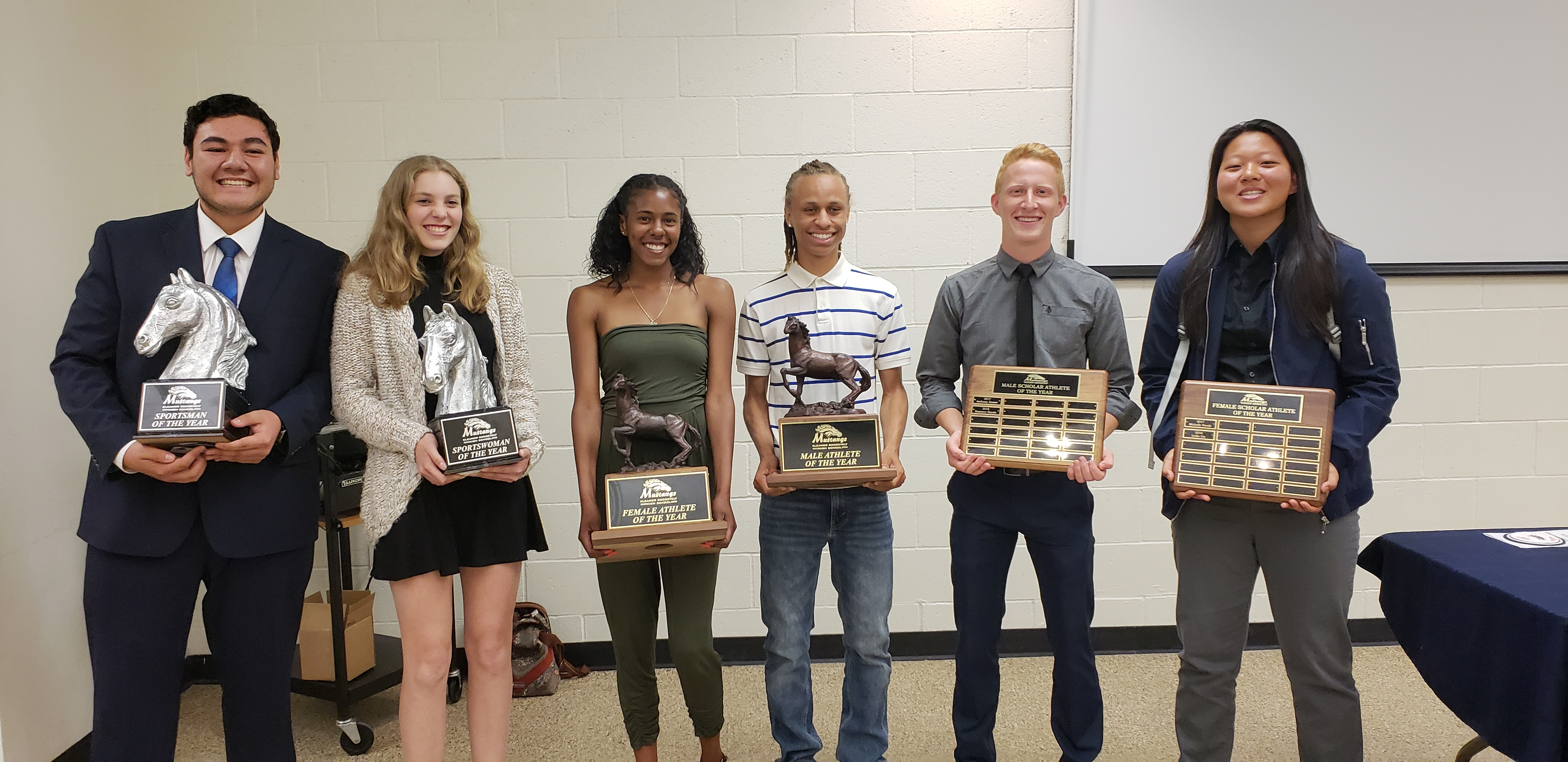 Top Athletes Honored at the 5th Annual All Sports Banquet
