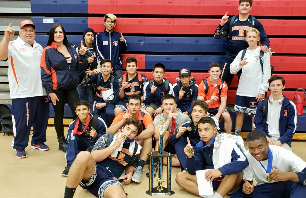 Wrestling gets 3rd straight Tourney title!