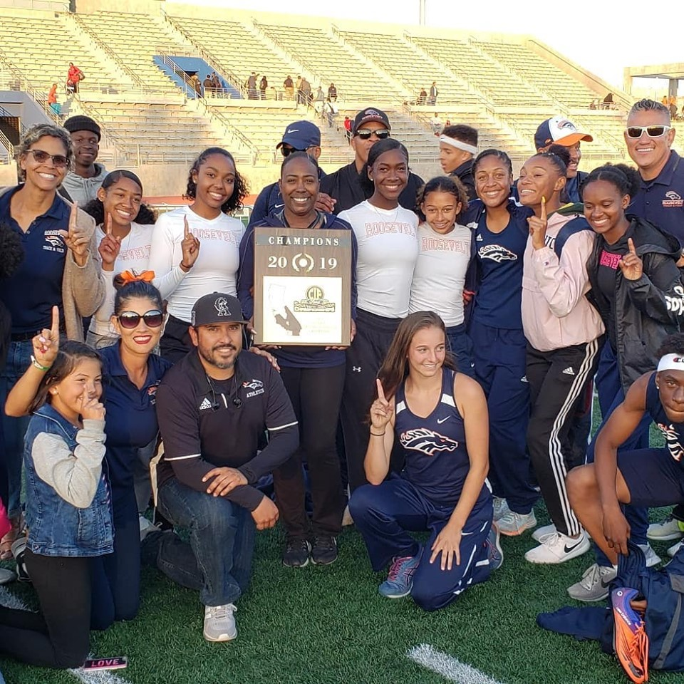 Girl Power continues as Girls Track and Field wins Div. 1 Title!!