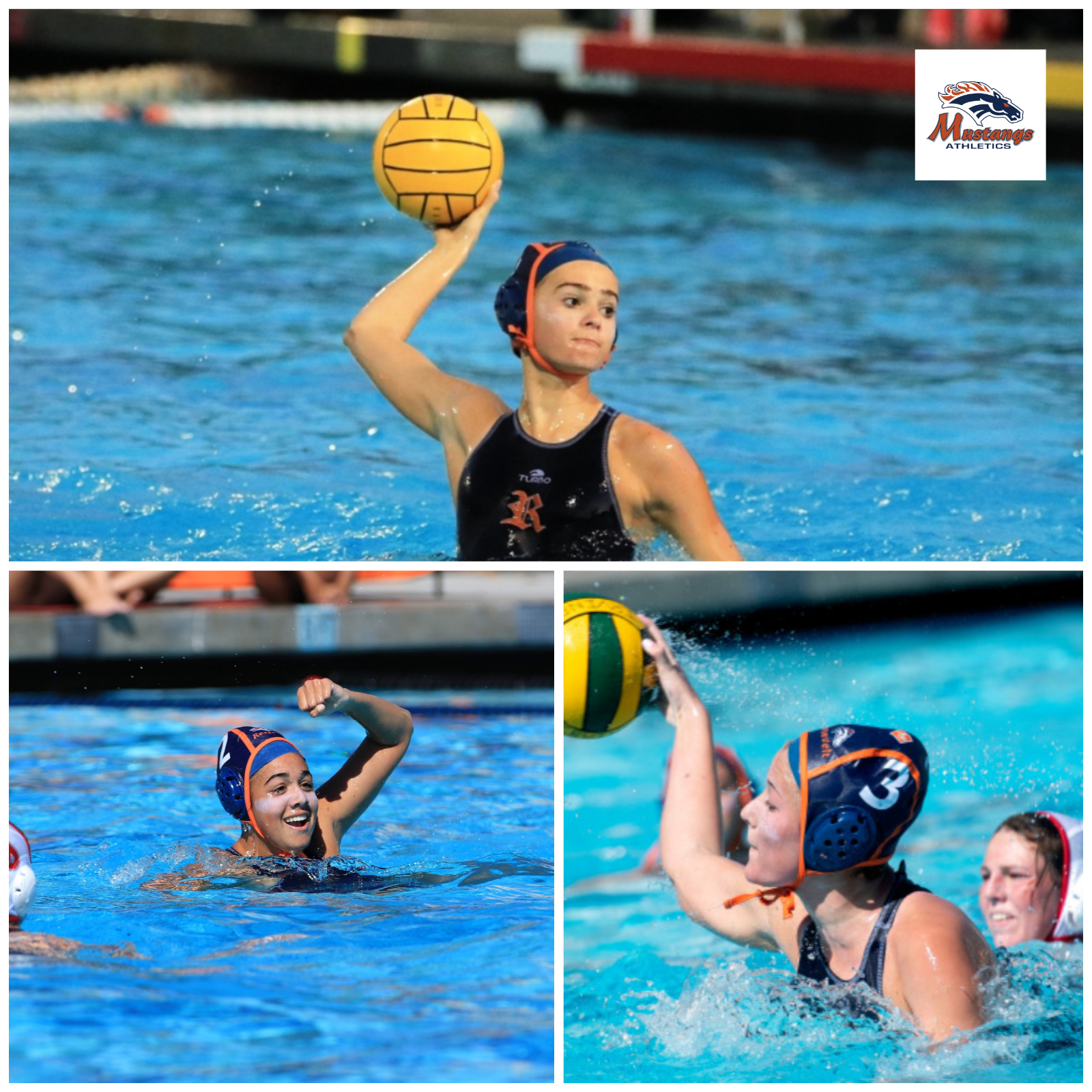 Varsity Water Polo Players given All American Honors