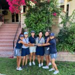 Roosevelt Girls Varsity Golf finishes 1st place at the King High School Invitational