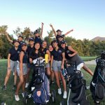 Girls Varsity Golf beats Santiago/Corona 190 – 254