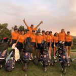 Roosevelt Girls Varsity Golf beats Norco 189 – 253