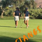 Girls Varsity Golf beats Corona at Goose Creek.