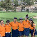 Roosevelt Girls Varsity Golf beats Santiago/Corona 194 – 292