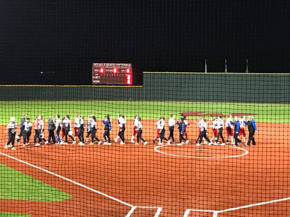 Spartan Softball begins Wylie Tournament with a WIN