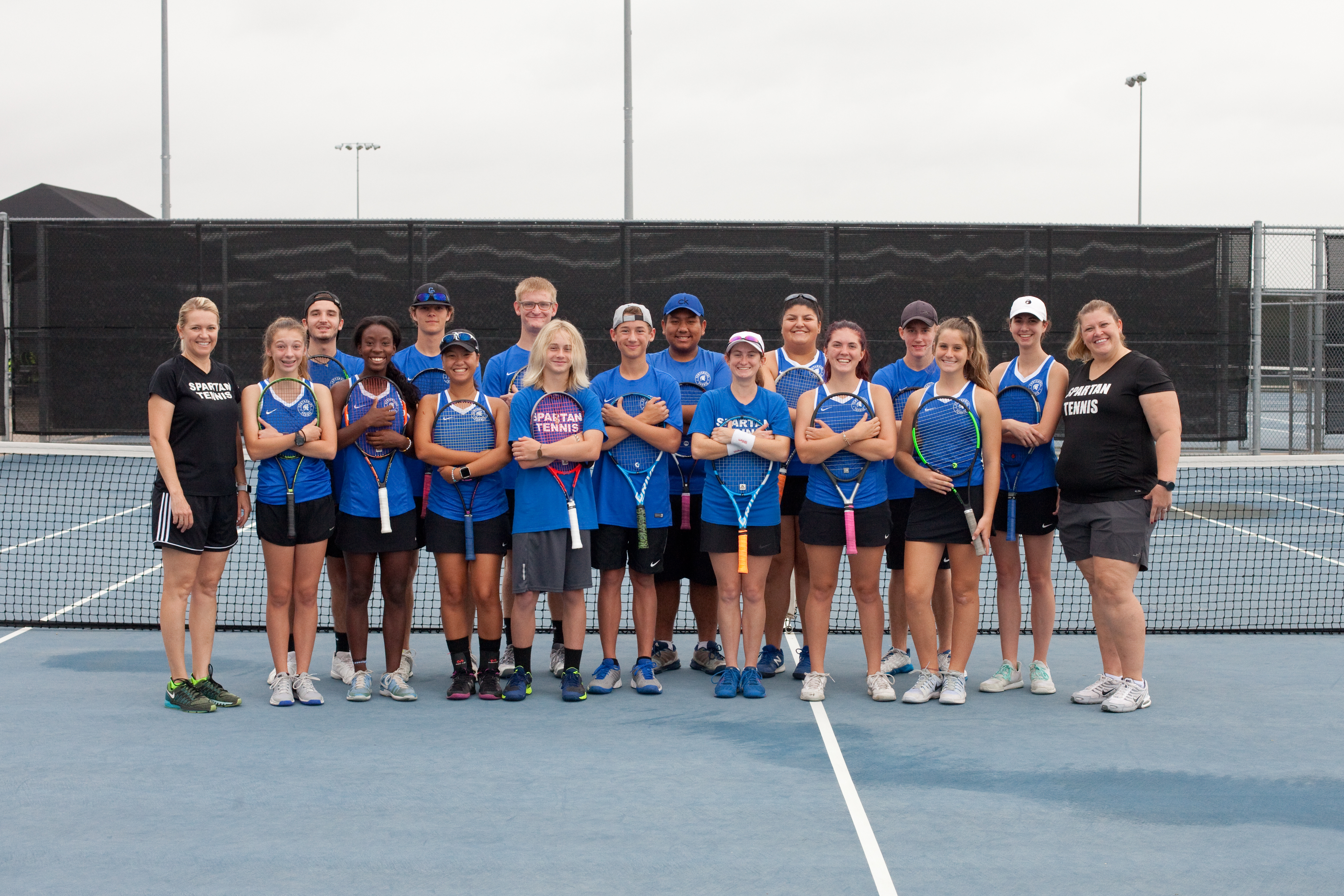 Spartan Tennis Team to face Arlington Heights in the playoffs