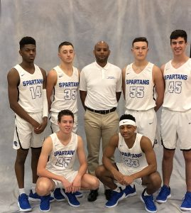 Spartan Boys Basketball 2018