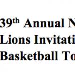 Northeast Lions Invitational Tournament – Info