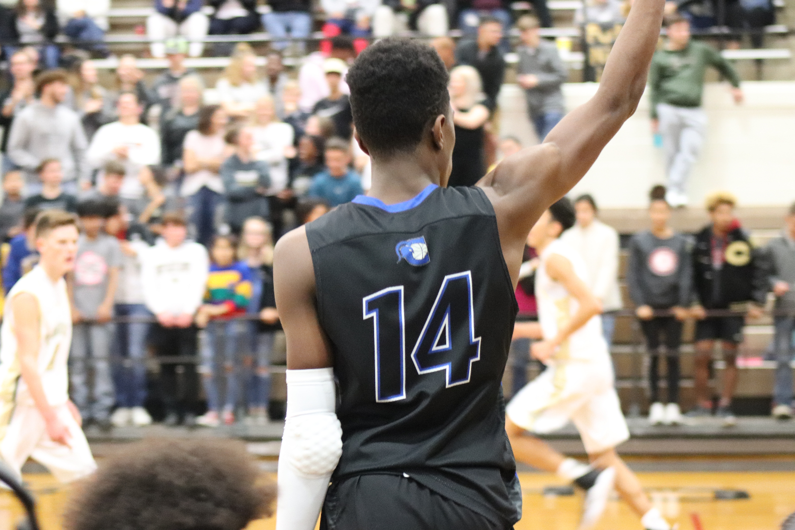 Hunter Leads Spartans Past Madison