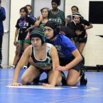 Girls Wrestling Claims Their First Dual Win Of The Season