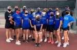 Spartan Tennis secures a playoff berth with the win over Timberview 15-4