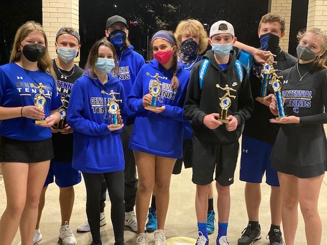 Spartans shine at the Centennial Spring Tournament