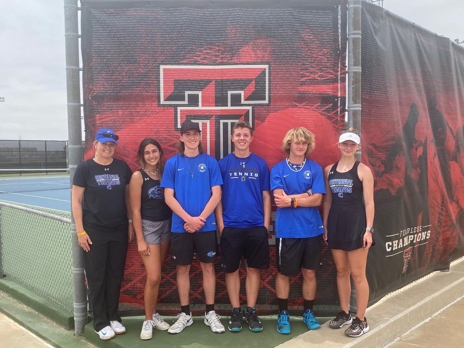 Spartan Tennis Team Wraps up Successful Year!