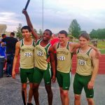 Boys 4 X 400 Team Crushes School Record