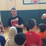 Boys Basketball Volunteers at Monon Madness