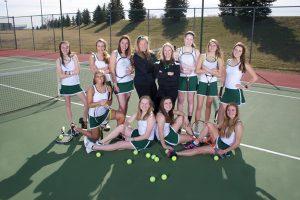 Girls Varisty tennis 2014