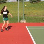 Girls Varsity Tennis falls to Harrison 2-3
