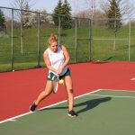 Girls JV Tennis fall to Fishers 2-5