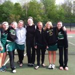 Girls Tennis tie for 6th at tourney; Moore receives all-conference honors
