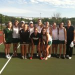 Varsity Girls tennis falls to Guerin Catholic 1-4 in Sectionals
