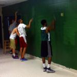 Boys Basketball Upgrading Locker Room