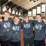 Boys 4X800 team wins Indoor State Title!