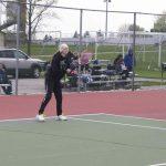 Girls Junior Varsity Tennis lose to Harrison 4-5