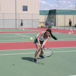 Girls Junior Varsity Tennis falls to Hamilton Southeastern 0-8