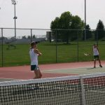 Girls Varsity Tennis falls to Fishers 0-5