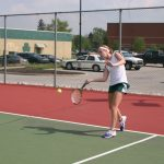 Girls JV Tennis Drop Match to Lebanon 2-7