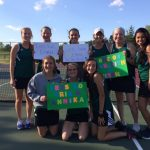 Girls Varsity Tennis falls to Guerin Catholic in Sectionals 2-3