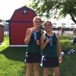 Mabe and Sprout Win #1 Doubles Sectional Title