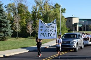 Boys Tennis-Homecoming Parade, 9/24/15