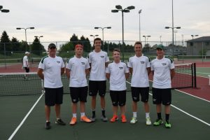 Boys Tennis – Senior Night, 9/28/15