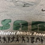 Student Athletic Board promoting BIG GAME