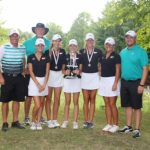 Westfield High School Girls Varsity Golf finishes 1st place