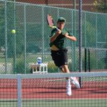 Westfield High School Boys Varsity Tennis beat Western High School 4-1