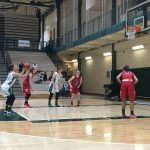 Westfield High School Girls Varsity Basketball beat Western Boone High School 53-45