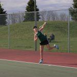 Girls Junior Varsity Tennis beat Lawrence Central 6-0